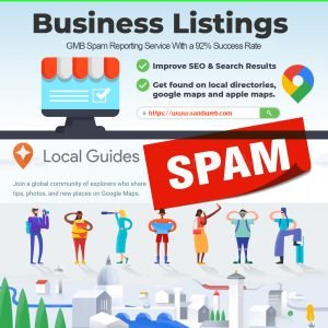 GMB Spam Reporting Service